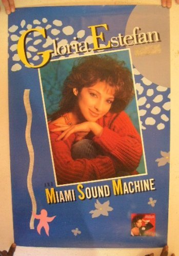 Gloria Estefan Poster Miami Sound Machine