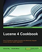 Lucene 4 Cookbook Front Cover