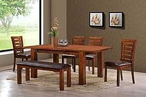 Holland House Pearington Dining Chair/Bench, Peacan Oak Finish