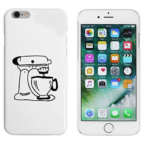 Blanc 'Mixer' étui / housse pour iPhone 6 & 6s (MC00021382)