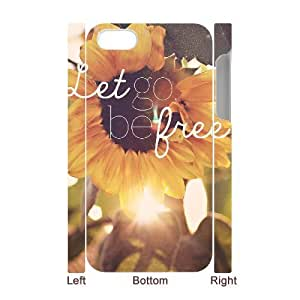 Be Free Custom 3D Cover Case for Iphone 4,4S,diy phone case ygtg581612 by mcsharks