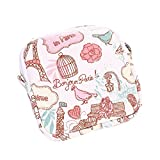 Nyalex - {Ship From US} Lovely Women Girl Cute Sanitary Pad Organizer Purse Holder Napkin Towel Storage Bags Cosmetic Pouch Case sanitary napkin bag [Pink ]