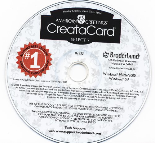 Amazon createacard american greetings create a card 7 make xp createacard american greetings create a card 7 make xp m4hsunfo