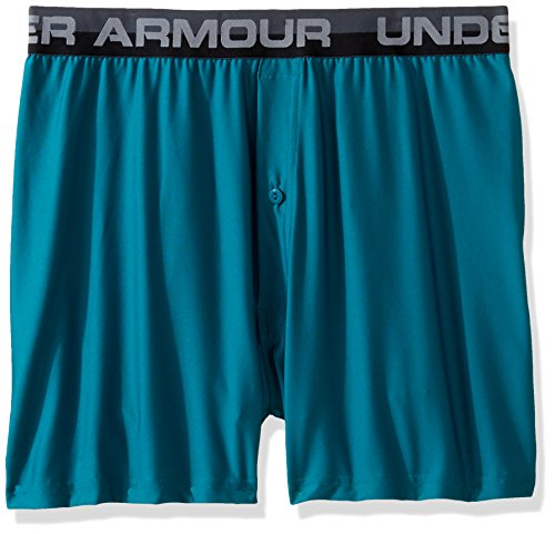 Under Armour Men's Original Series Boxer Shorts, Turquoise Sky/Steel, Large