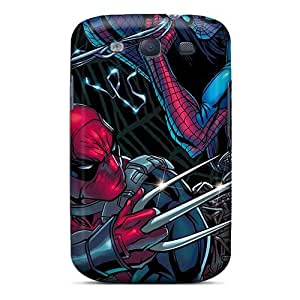 Awesome Design Deadpool I4 Hard Case Cover For Galaxy S3