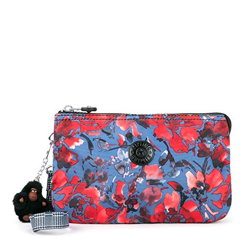 Kipling Creativity XL Pouch, Festive Floral Combo