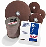 United Abrasives SAIT 52812 5x7/8 Premium General Purpose Fiber Grindi
