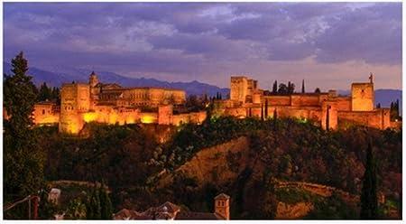 YsKYCp Puzzle 1000 Piezas, Granada España. La Belleza De La Alhambra para Niños Regalo De Rompecabezas para Adultos: Amazon.es: Hogar