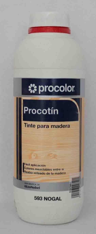 Tinte para madera PROCOTIN 0,750 L color 593 Nogal de ...