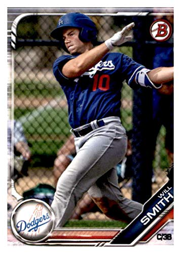 2019 Bowman Prospects #BP-91 Will Smith RC Rookie Los Angeles Dodgers MLB Baseball Trading - Smith Card Rookie