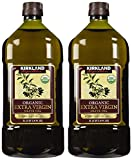 Kirkland Signature sdfgsfd Organic Extra Virgin Olive Oil, 2 Liters - 4 Bottles