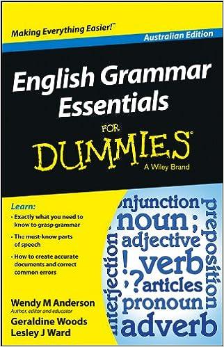 ee192a2a18b English Grammar Essentials For Dummies - Australia (For Dummies Series) 1st  Edition
