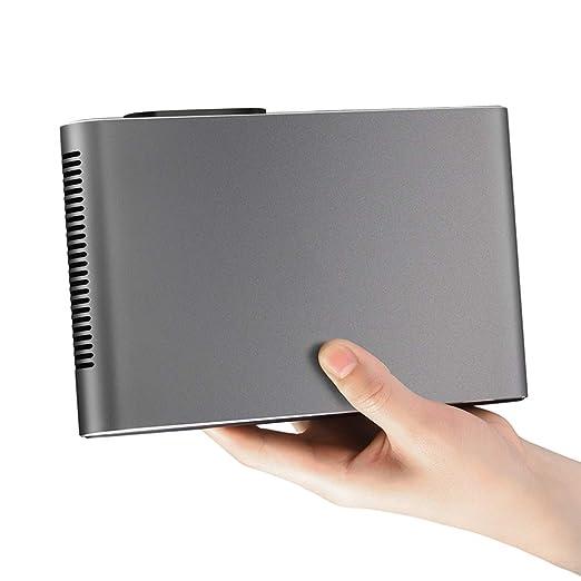 T ECH Micro Proyección 3D Láser WiFi, Proyector HD 1080P En ...