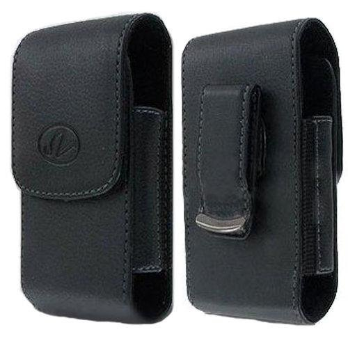 Leather Vertical Swivel Belt Clip Case Pouch for LG Exalt VN360
