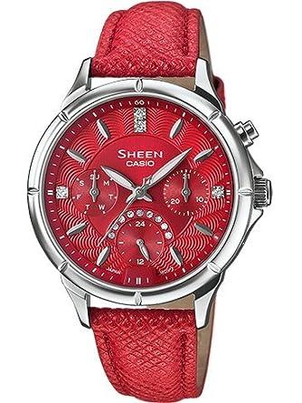 Sheen Stahl Uhr swarovski SHE-3047L-4AER