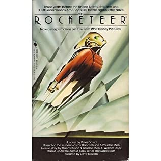 book cover of The Rocketeer