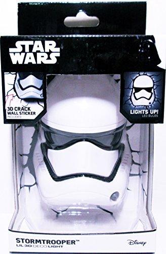 Blue Sky Wireless Lil' Stormtrooper 3D Deco (Idee De Deco D'halloween)