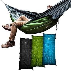 Outdoor Vitals Aerie Down Underquilt/Sleeping Bag 20 Degree Green