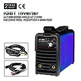 IGBT 220V MMA ARC Welder - Tosense ZX7-200 200A DC Inverter Portable Stick Welding Equipment For 3.2-4.0MM Rod (220v)