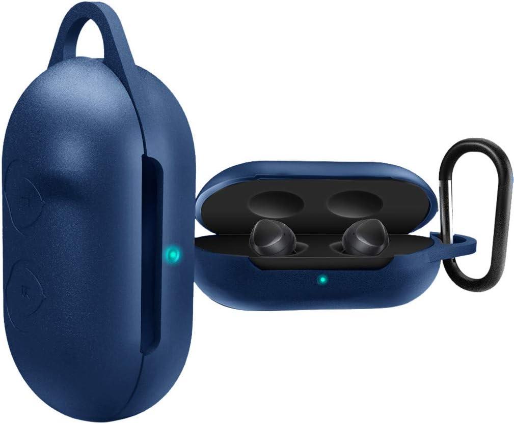 Yncc /Étui en Silicone Casque Bluetooth pour Samsung Galaxy Buds,Bo/îte de Protection,avec Porte-cl/és,Antipoussi/ère et Antichoc,Prot/éger Les /écouteurs