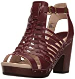 Jambu Women's Valentina Platform Dress Sandal, Wine, 9.5 M US