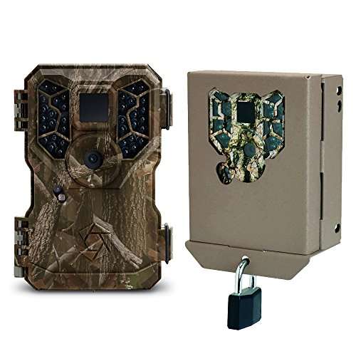 Stealth Cam GSM 8MP No Glo IR Mini Infrared Game Trail Camera and Security Case