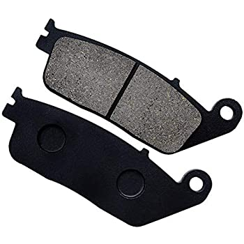 Amazon.com: Yerbay Motorcycle Front and Rear Brake Pads