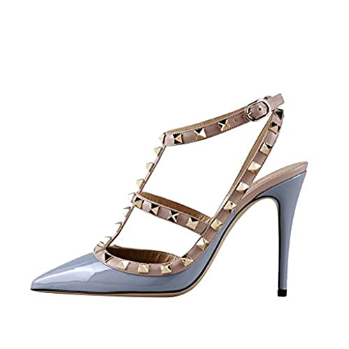 398f6820d8 Comfity Sandals for Women,Rivets Studded Strappy High Heels ...