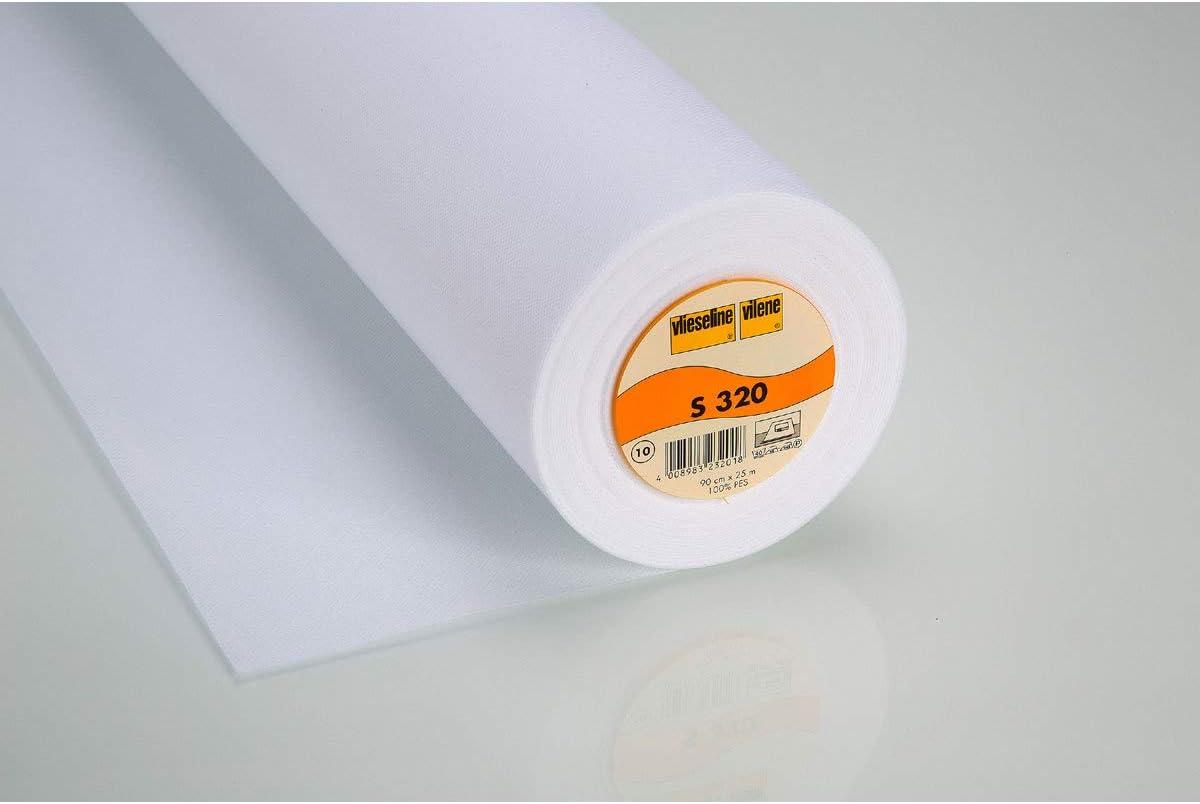 15m Rolle Meter Decovil I 10,38€//m 90cm breit Freudenberg Vlieseline beige