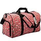 DEMOMENT Sports Gym Travel Weekender Duffel Bag Water Resistance Carry On Luggage with Shoe Compartment