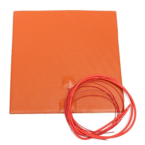 0183 12V 200W 200mmx200mm Waterproof Flexible Silicone Heating Pad Heater For 3d from Aigh Auality shop