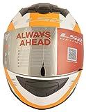 LS2 FF352 Trooer Full Face Helmet (Multicolor, Large)