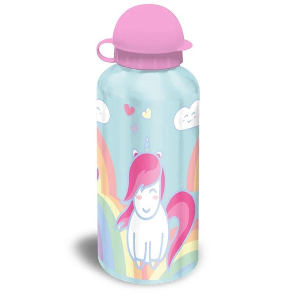 Desconocido Kids KL10293 Unicornio Botella-cantimplora Aluminio ...
