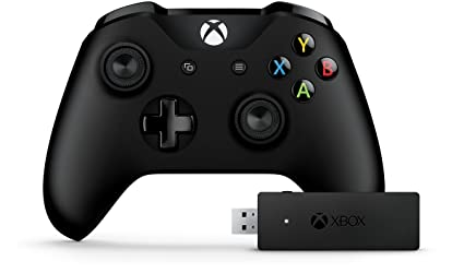 Microsoft XBOX One Controller with Wireless Adapter for PC/Mac/Linux  (CWT-00001)