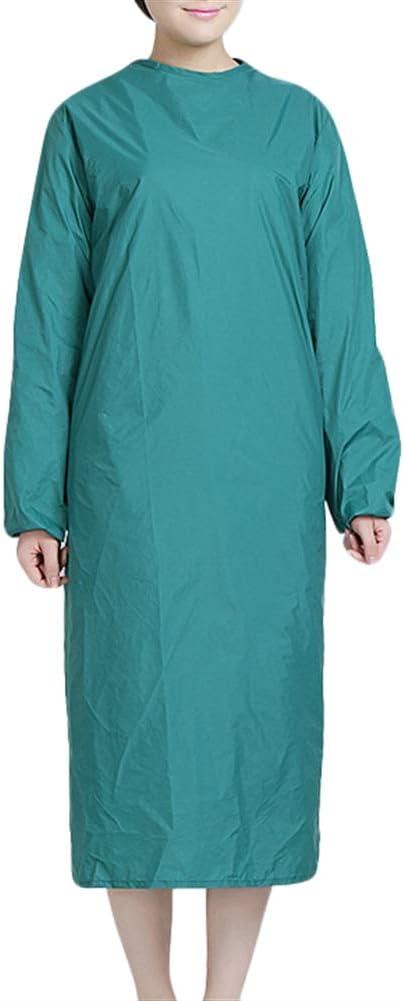 Icegrey V/êtements de Protection /à Usage Domestique,Blouse Chirurgicale Imperm/éable,Jaune,S
