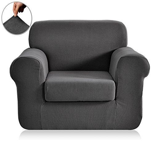chunyi-2-piece-jacquard-polyester-spandex-sofa-slipcover-chair-gray