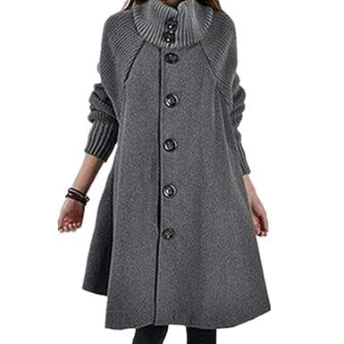 KCatsy Donna Plus Size Cappotto Giacche Cape Giacche