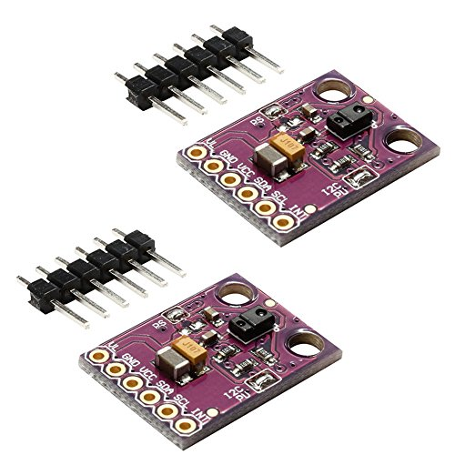 (Gowoops 2PCS of APDS-9960 Hand Gesture Recognition Moving Direction Ambient Light RGB Proximity Sensor Module)