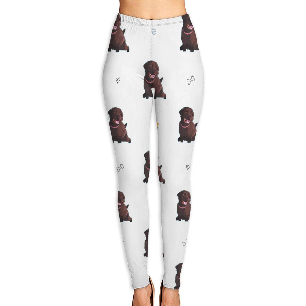 Amazon.com: FannyMT Women¡¯s High Waist Chocolate Lab ...
