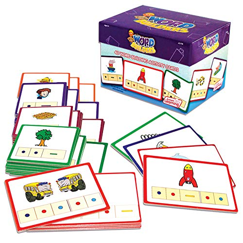 - Junior Learning Word Builders Activity Cards