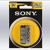 Sony S-006P-B1A Zinc-carbono 9V batería no-recargable - Pilas