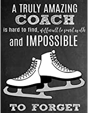A Truly Amazing Coach Is Hard To Find, Difficult To Part With And Impossible To Forget: Thank You Appreciation Gift for Ice Skating Coaches: Notebook | Journal | Diary for World's Best Figure Skating Coach