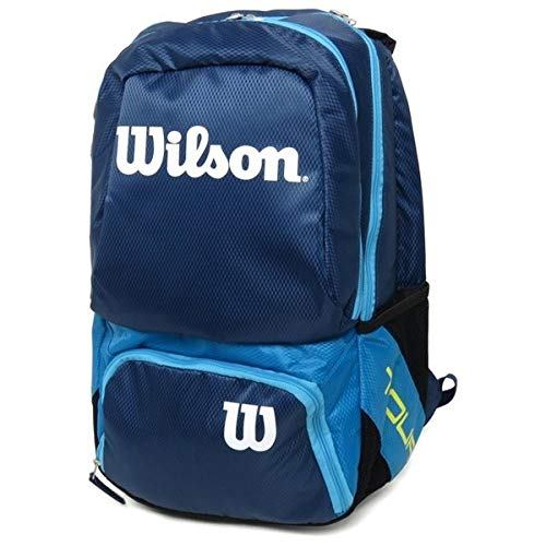 Wilson Tour V Backpack Medium BL, Mochila Unisex Adulto, Azul (Blue) 36x24x45