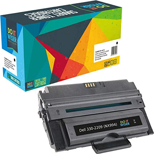 Do it Wiser Compatible Toner Cartridge Replacement for Dell 2355dn Dell 2335dn | 330-2209 NX994 (6,000 Pages) ()
