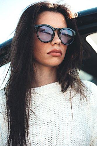sol degradadas FRIDA mujer Gafas TWIG Negro de Viola espejo FAqA5Uf