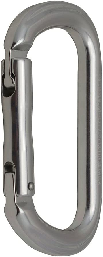 Fusion Climb Supreme II Aluminum Oval-Shape Carabiner 5-Pack