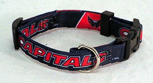 Hunter Mfg. LLP NHL Washington Capitals Adjustable Pet Collar, X-Small, Team Color