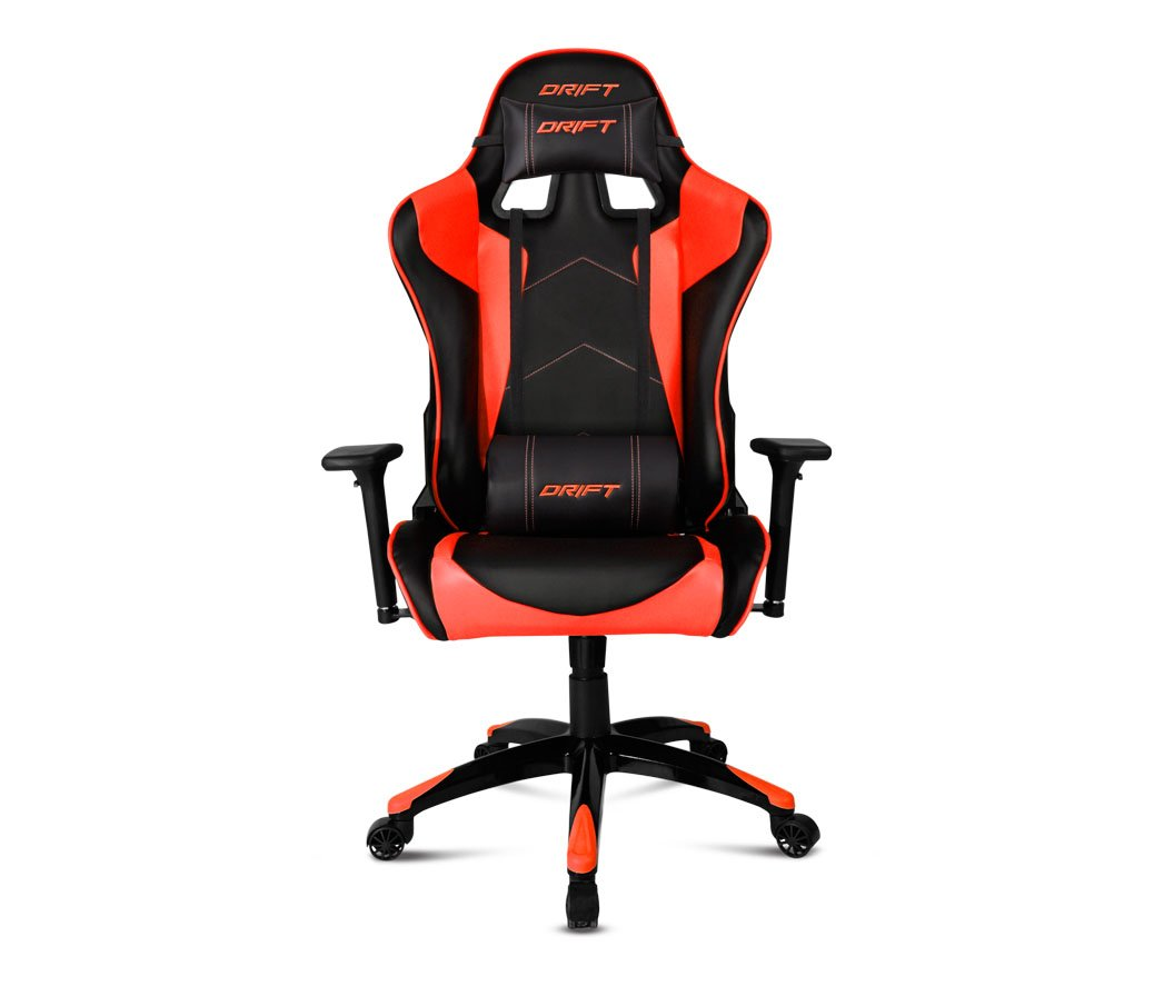 Drift DR300 - DR300BR - Silla Gaming, Color Negro/Rojo