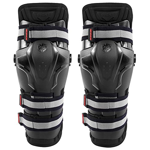 - Scoyco K19 Motorcycle Knee Guards Motocross Knee Pads Braces Off Road Protective Gear