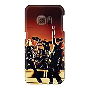 Protector Cell-phone Hard Cover For Samsung Galaxy S6 With Customized Vivid Chimaira Band Pattern SherieHallborg